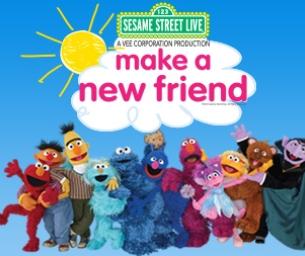 "Sesame Street Live: ""Make a New Friend"" Giveaway"