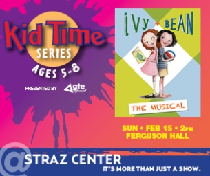 WIN 4-TIX: Ivy & Bean The Musical ~ Kid Time Series