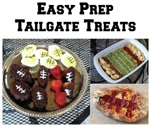 Easy Prep Tailgate Treats
