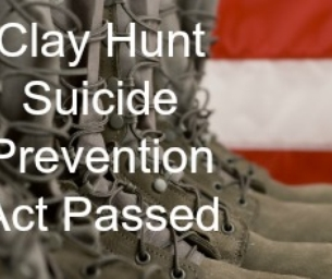 Senate Passes Clay Hunt Suicide Prevention for American Veterans Act
