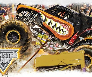 Win a family 4 pack of VIP MONSTER JAM TICKETS!
