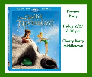 Your Invited ~ TinkerBell & The Legend Of The NeverBeast Preview Party