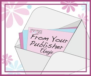 Note From Your Publisher - February 20, 2015
