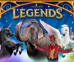 GIVEAWAY TIME- Ringling Bros and Barnum & Bailey Presents LEGENDS