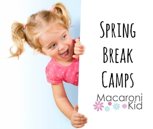 2015 Spring Break Camps!