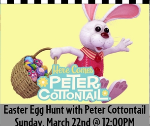 Easter Egg Hunt With Peter Cottontail
