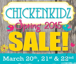ChickenKidz Consignment Event, GIVEAWAY!