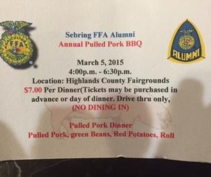 Sebring FFA Alumni