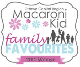 Congrats to the Winners of the Ottawa Family Favourites