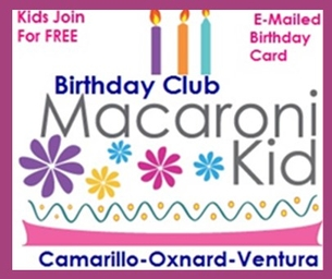 MACARONI KID BIRTHDAY CLUB: Birthday's March 2-8