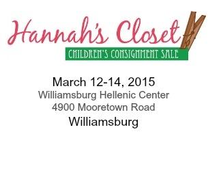 Hannah's Closet Spring Sale