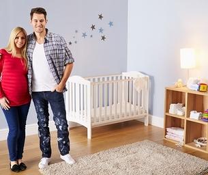 Easy, Inexpensive Nursery Decorating Ideas