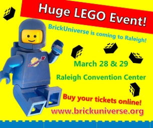 BrickUniverse is a huge LEGO Fan Event