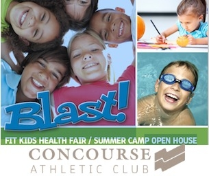 Concourse Athletic Club Fit Kids Health Fair & Summer Camp Open House