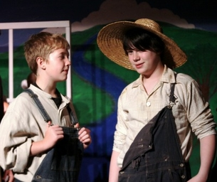 Tom Sawyer, on stage now - March 8 at the Fort Bend Theatre