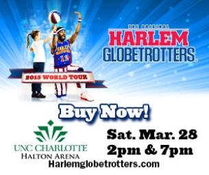 The Return of the Harlem Globetrotters!