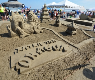 Summer on the Mind: Six Super Sandcastle Events