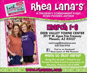 Rhea Lana's Children's Consignment Event