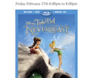 Tinkerbell and the Legend of the NeverBeast Preview Party
