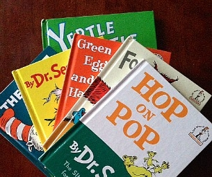 Curl up with Dr. Seuss!  It's His Birthday!
