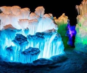 Ice Castle Vermont