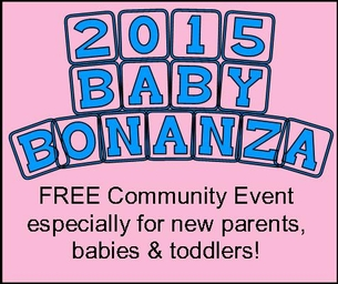 You're Invited to our 3rd Annual Baby Bonanza!
