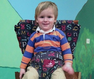 totseat, the Washable, Squashable, Portable Highchair