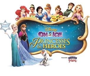 Disney On Ice presents Princesses & Heroes at CONSOL