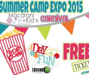 2015 Macaroni Kid Pittsburgh Summer Camp Expo:FREE: Kid's Carnival
