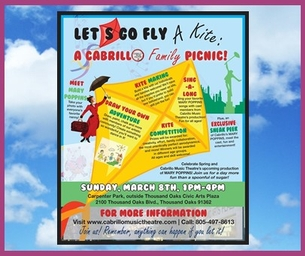 FREE CABRILLO FAMILY PICNIC WITH MARY POPPINS