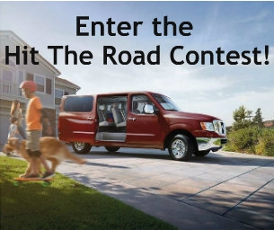 Enter the Hit The Road Contest!