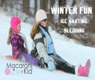 Winter Fun: Local Sledding Hills and Ice Skating Spots