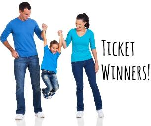 Ticket Giveaway Winners!