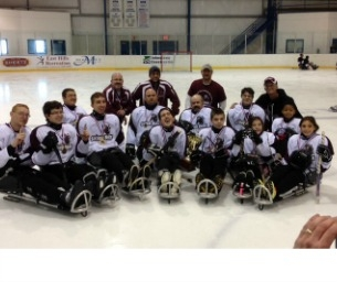 Sitting Bulls Disabled Sled Hockey VS Local Celebrities and Educators