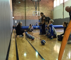 Lil' Kickers Chicago at The Menomonee Club for Boys and Girls!