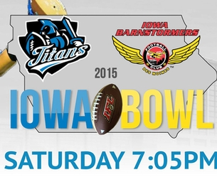 Iowa Bowl - This Saturday!!