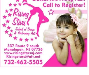 Rising Stars Dance Camp and Classes -Register Now!
