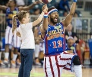 The Harlem Globetrotters at the DCU!