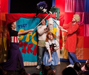 Giveaway:  Enter to Win 4 Tickets to See The Story Pirates!