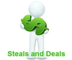 STEALS and DEALS!!!