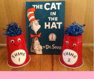 Dr Seuss' Thing 1 and Thing 2