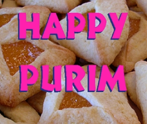 It's Time for Purim and HAMENTASHEN!