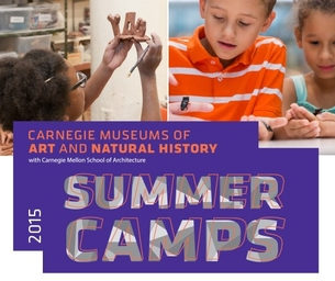 2015 Summer Camps at Carnegie Museums of Art and Natural History