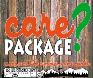 Sending Sensational Camp Care Packages