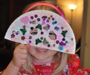 Mardi Gras Mask for Kids