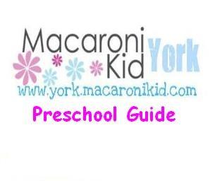 Macaroni Kid York's Preschool Directory!