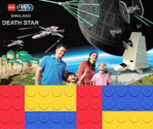 SNEAK PEAK OF NEW LEGO® STAR WARS™ MINILAND DEATH STAR OPENING MARCH 5