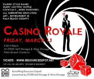Win Tickets to Resource Depot's Casino Royale Fundraiser!