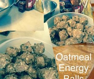 No Bake Oatmeal Energy Balls