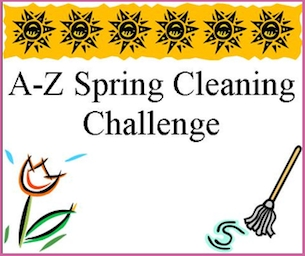A-Z Spring Cleaning Challenge